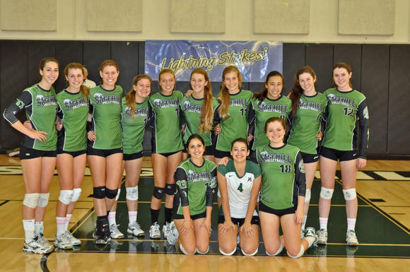 The Sage Hill School girls' volleyball team advanced to the CIF Southern Section Division 3-A title match.