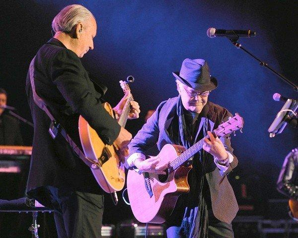 "For fans of The Monkees, the group's Chicago Theatre concert Friday will be both bittersweet and intriguing. The late Davy Jones is gone, and the long-absent Michael Nesmith returns. Jones, the heartthrob Englishman of the quartet, died of a heart attack in February at the age of 66. Nesmith, who has not performed with The Monkees since a brief run of European dates in 1997, will join Micky Dolenz and Peter Tork for the band's tour. ""The seeds of this were actually planted months before David's death,"" says Dolenz. ""We thought we should go out and do 'Headquarters,' which was the first album that we'd managed to get control over musically. Michael was expressing interest, and so were Peter and Davy and I. Then the tragedy struck and David passed."" <br><br><a href=http://www.chicagotribune.com/entertainment/music/ct-ent-1115-monkees-20121114,0,2973226.story>Read the full Monkees interview</a><br><br><b> 8 p.m. Friday at Chicago Theatre, 175 N. State St.; $63-$78; 800-745-3000 or ticketmaster.com</b>"