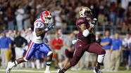 Texas State's Marcus Curry looking forward to facing former Navy teammates