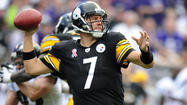 It's certainly tempting to look at what happened to Ben Roethlisberger on Monday night and assume that the balance of power in the AFC North has shifted dramatically in the favor of the Ravens, because that would seem to be a pretty fair assumption.