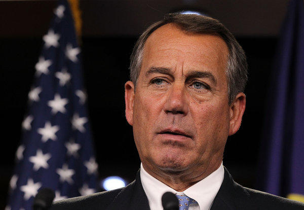 Rep. John A. Boehner of Ohio will continue as speaker of the House of Representatives.