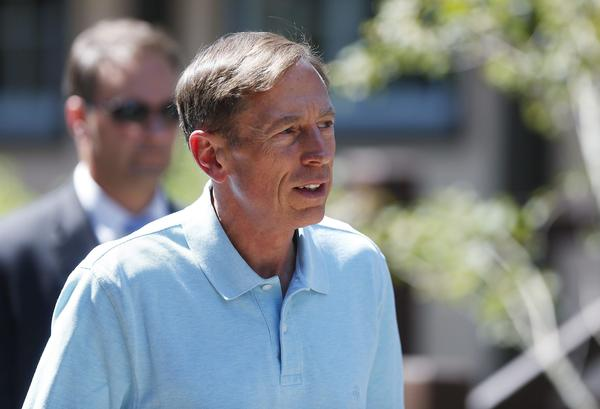 CIA Director David Petraeus is seen at a conference in Idaho in July.