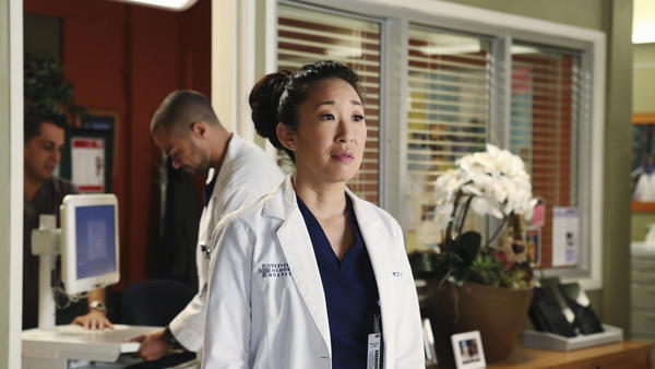 "A pediatric case proves to be a challenge for Bailey (Chandra Wilson, left) in a new episode of ""Grey's Anatomy"" at 9 p.m. on ABC. With Sara Ramirez."