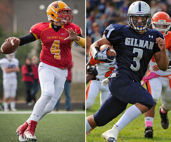 No. 1 Gilman vs. No. 2 Calvert Hall