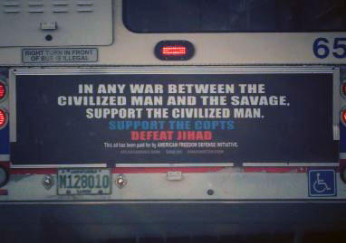 Controversial ad on CTA bus