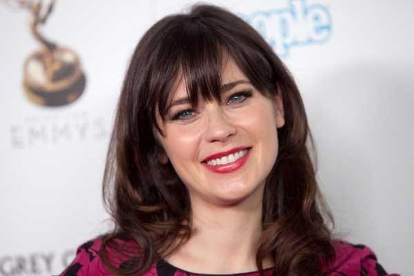 "Zooey Deschanel will be a guest on ""Late Show With David Letterman"""