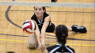 North High at State Semifinal Volleyball Match