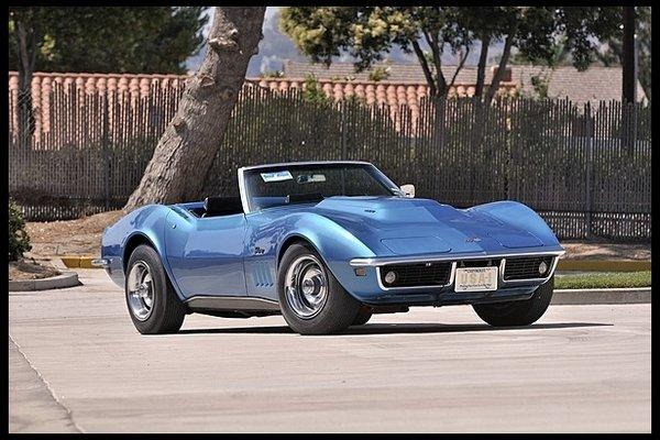 This 1969 Chevrolet Corvette L88 Convertible is one of more than 800 cars set to be auctioned in Anaheim.