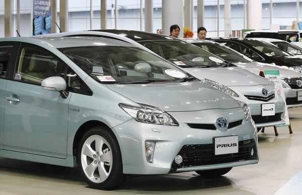 In the U.S., the recalls include 2004 through 2009 model year Prius hybrids.
