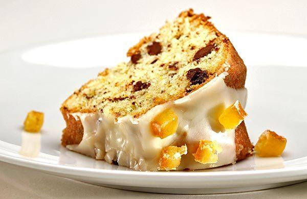 Norwegian orange cake.