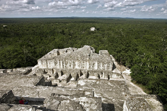 Travel to Mexico -- Calakmul -- Mayan ruins