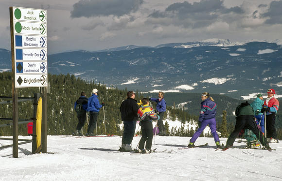 Travel to Colorado -- Winter Park Resort