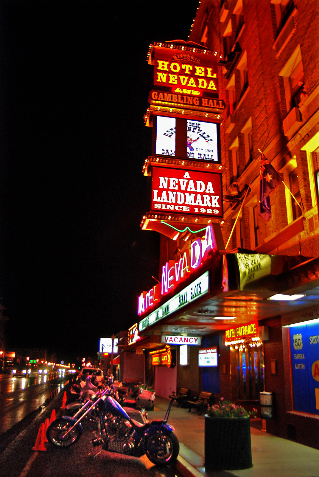 Weekend Escape: Ely, Nevada - Hotel Nevada & Gambling Hall