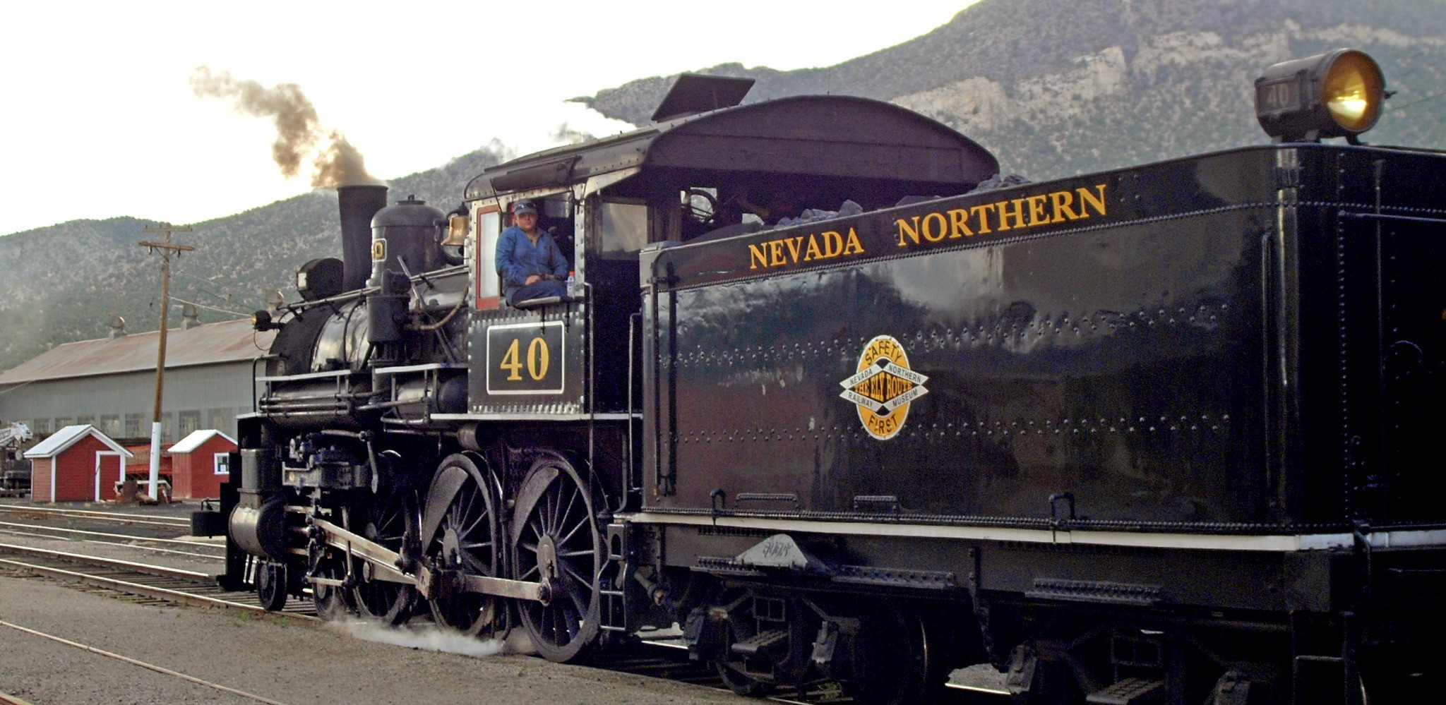 Weekend Escape: Ely, Nevada - Nevada Northern Railway Museum