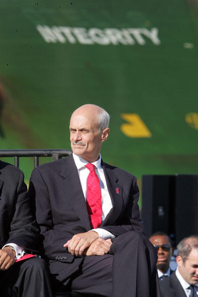 Michael Chertoff, former Homeland Security director turns 57 today. (Photo by Scott Gries/Getty Images)