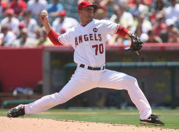 ARCHIVE PHOTO: After being released from the Los Angeles Angels of Anaheim, former Crescenta Valley star pitcher Trevor Bell signed with the Detroit Tigers.