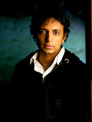 The director, M. Night Shyamalan