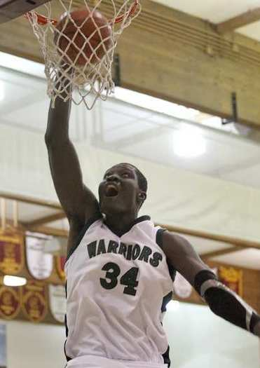 Mamadou Ndiaye averaged 24 points, 13.9 rebounds and five blocks at Brethren Christian High last season.