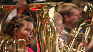 Band clinic in Aberdeen draws top-notch students