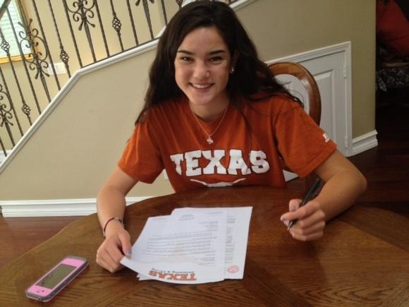 Corona del Mar High swim standout Brynne Wong committed to the University of Texas.