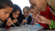 IMPERIAL — It was a day of fizzy reactions and slimy concoctions for the students at Ben Hulse Elementary School.