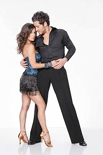 Kelly Monaco and Valentin Chmerkovskiy, semi-finalists on 'Dancing with the Stars All-Stars.'