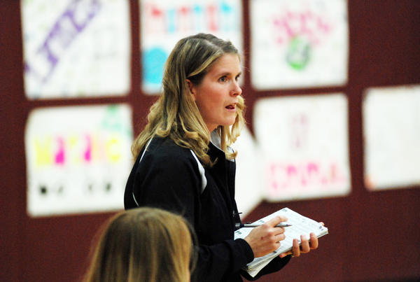 Liz Shaw of Charlevoix returns to the sidelines after missing the 2012 volleyball season to have her second child. Shaw takes over the Charlevoix High School girls' basketball program after the Rayders finished 9-14 last season.