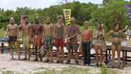 Back from Tribal Council on Night 22, everyone is reeling. Apparently all the players were just as confused as the viewers at Tribal Council, and there was no strong plan. Jonathan realizes that by voting for Abbi because he was mad at her, he kept the vote from being a Jeff/Pete tie.