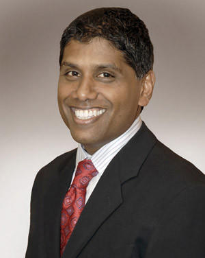 Mohan Suntha has been named president and CEO of the newly created University of Maryland St. Joseph Medical Center.