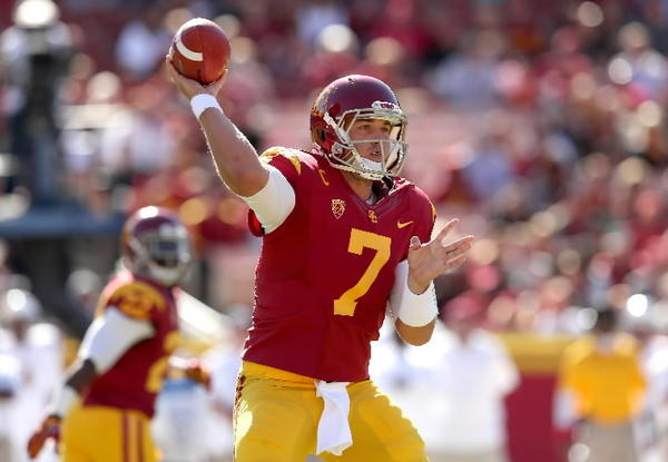 Barkley has thrown for 113 touchdowns and 12,026 yards while at USC. This season Barkley has had 226 completions in 349 attempts.