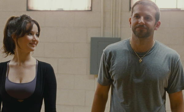 "<b>R; 2:02 running time</b><br><br> For a while there in the Philadelphia-set ""Silver Linings Playbook,"" the unruly protagonist played by Bradley Cooper, by Russell's admission, is an off-putting guy on which to hang a feel-good Oscar-season hopeful. We meet Pat Solatano (Pat Peoples in the novel) as he's finishing up eight months in a state mental health institution. Slowly we learn the circumstances: He is married to a fellow high school teacher, though Pat himself has lost his job, owing to a violent incident alluded to early on and revealed in full later. -- Michael Phillips<br><br><a href=http://www.chicagotribune.com/entertainment/movies/sc-mov-1113-silver-linings-playbook-20121115,0,1902708.column>Read the full ""Silver Linings Playbook"" movie review</a>"