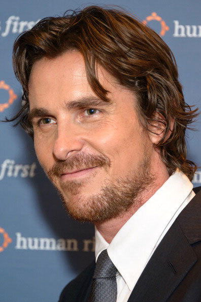 Actor Christian Bale attends Human Rights First's Human Rights Award Dinner at Pier Sixty at Chelsea Piers on October 24, 2012 in New York City.