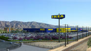 Ikea released a rendering Thursday of its proposed new Burbank store, which would be 92% bigger than the existing store and would turn one of the smallest Ikeas in California into one of the largest in the country.