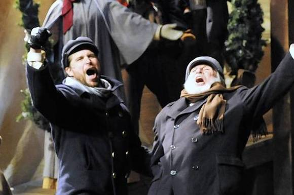"The 2011 production of ""Christmas Schooner"" at the Mercury Theater."