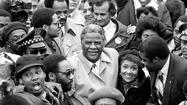 Photos:  Chicago Mayor Harold Washington