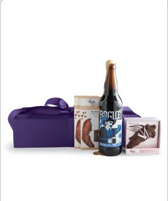 "Lisa likes: Beer & Bacon gift box from Vosges Haut Chocolate ($48)  Sure, I don't need a bomber of Rogue Shakespeare stout and a hunk of bacon-studded chocolate shaped like a flying pig. But the best gifts are something you would never buy yourself, right? -- Lisa Arnett <br><br> <a href=""http://www.vosgeschocolate.com/product/bacon_bar_and_beer/gift_ideas_30_75"">Find 'em here.</a>"