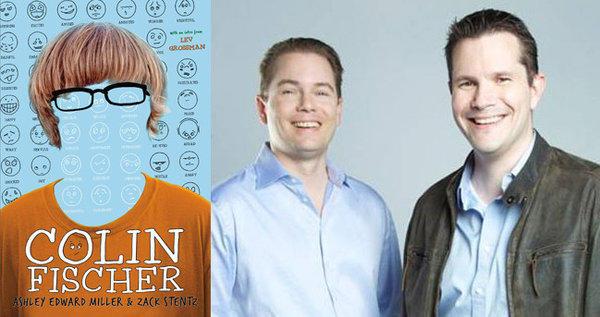 Authors Zack Stentz, left, and Ashley Edward Miller.