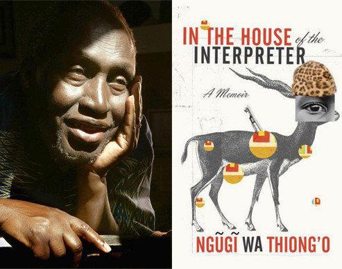 African writer Ngugi wa Thiong'o.