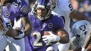 Can Ravens repeat Ray Rice's performances in 2011 vs. Steelers?