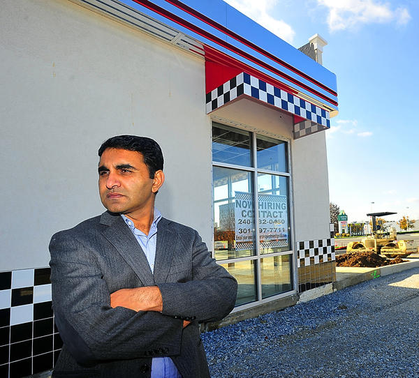Misbah Malik is opening a Checkers restaurant on Dual Highway in Hagerstown.