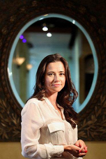 Actress Linda Cardellini in Beverly Hills.