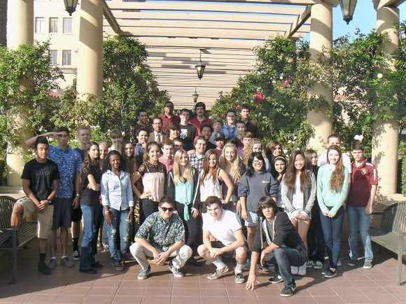 Students from La Canada High School 7/8 went to the U.S. 9th Circuit Court of Appeals in Pasadena on Nov. 7 to hear oral arguments in a death penalty appeal. History teacher Dan Yoder uses the trip as an opportunity to study Constitutional law and the justice system.