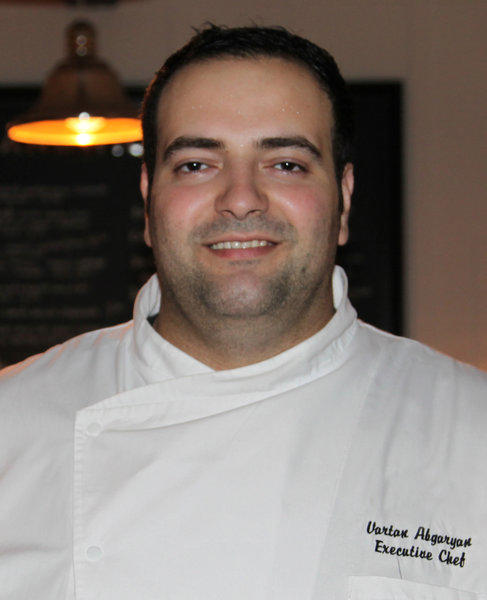 Vartan Abgaryan has replaced Benjamin Bailly as executive chef of Silver Lake's Cliff's Edge restaurant.