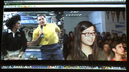 Photo Gallery: San Marino High School video conference with International Space Station