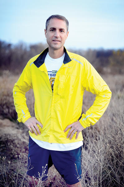 First-time JFK 50 Mile participant Jesse Garrant says he is 'eager to get started' with the ultramarathon scheduled for this Saturday.