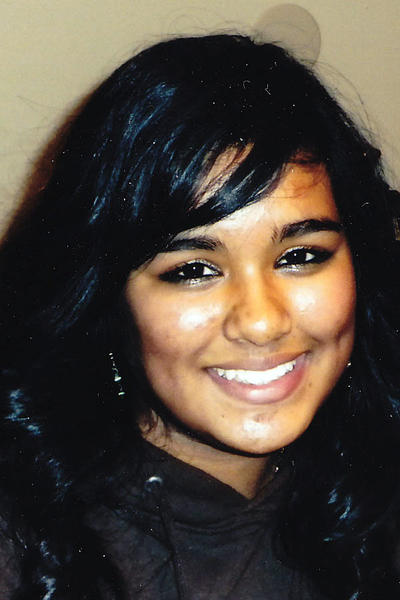 Sasha Arianna Samlal, 15, of Reisterstown was reported missing Sept. 21.
