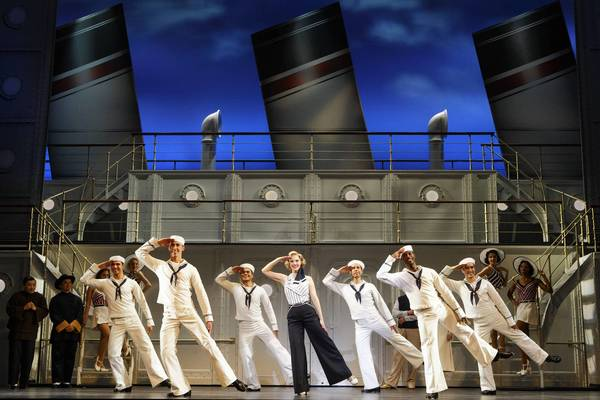 "The Roundabout Theatre Company's production of ""Anything Goes."""