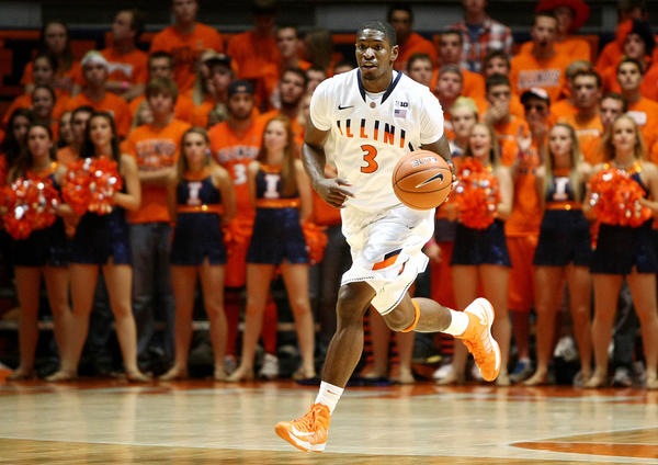 Brandon Paul has been at the forefront for Illinois.