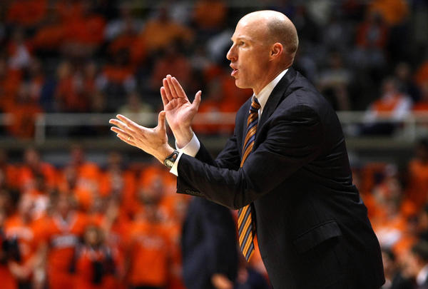 Illinois coach John Groce will keep his mind on business in Hawaii.