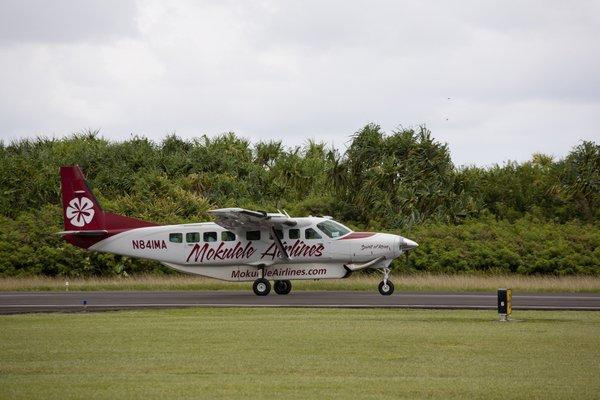 Mokulele Airlines has introduced service to Hana on the island of Maui, using a nine-seater Cessna aircraft for the 20-minute trip.